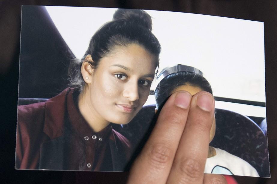 Shamima Begum, 19 ans, originaire de l'est londonien,... (PHOTO AFP)