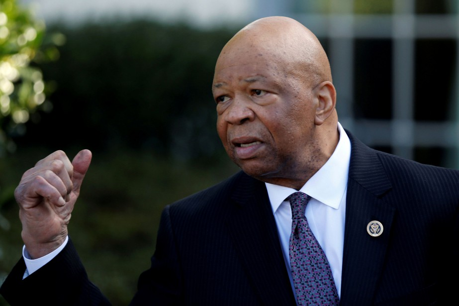 Elijah Cummings, président de la commission de Contrôle... (PHOTO REUTERS)
