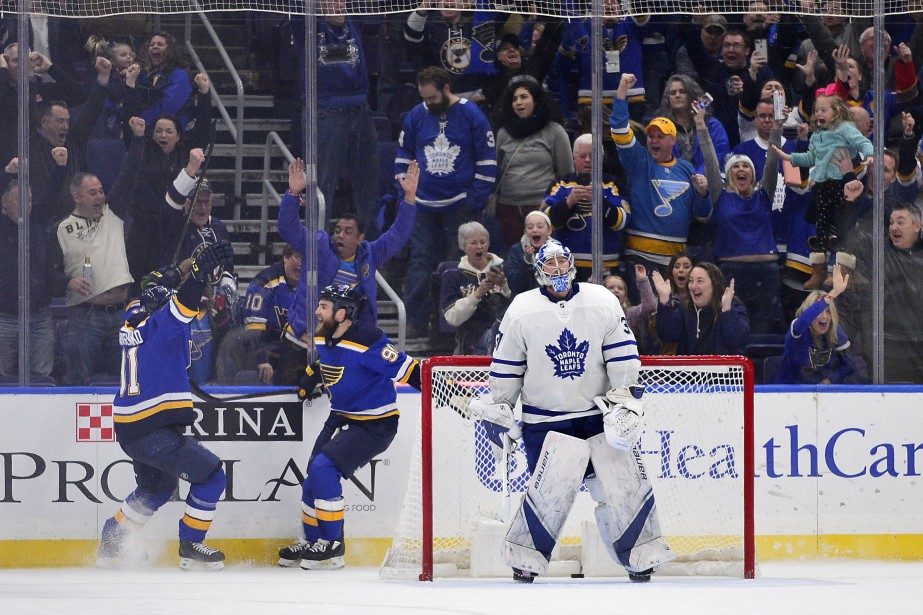 RyanO'Reilly, des Blues de St. Louis, a joué... (Photo Jeff Curry, USA TODAY Sports)