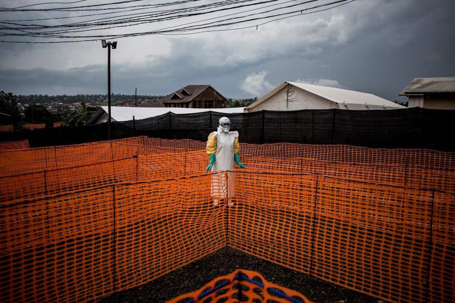 John Wessels, photographe basé à Kinshasa, a reçu... (Photo JOHN WESSELS, AFP)