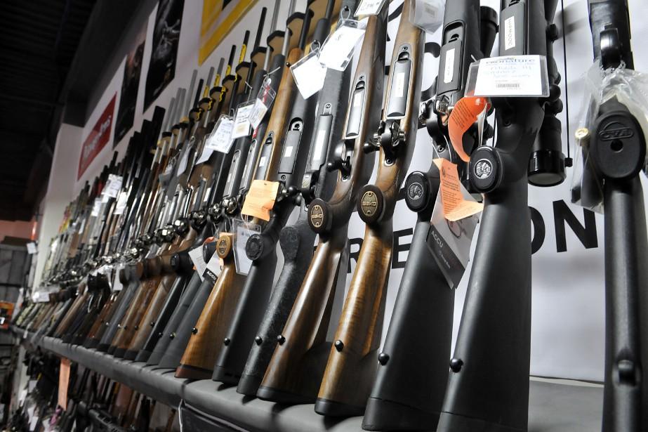 Depuis le 30janvier, tous les détenteurs d'armes à... (Photo Rocket Lavoie, archives Le Quotidien)
