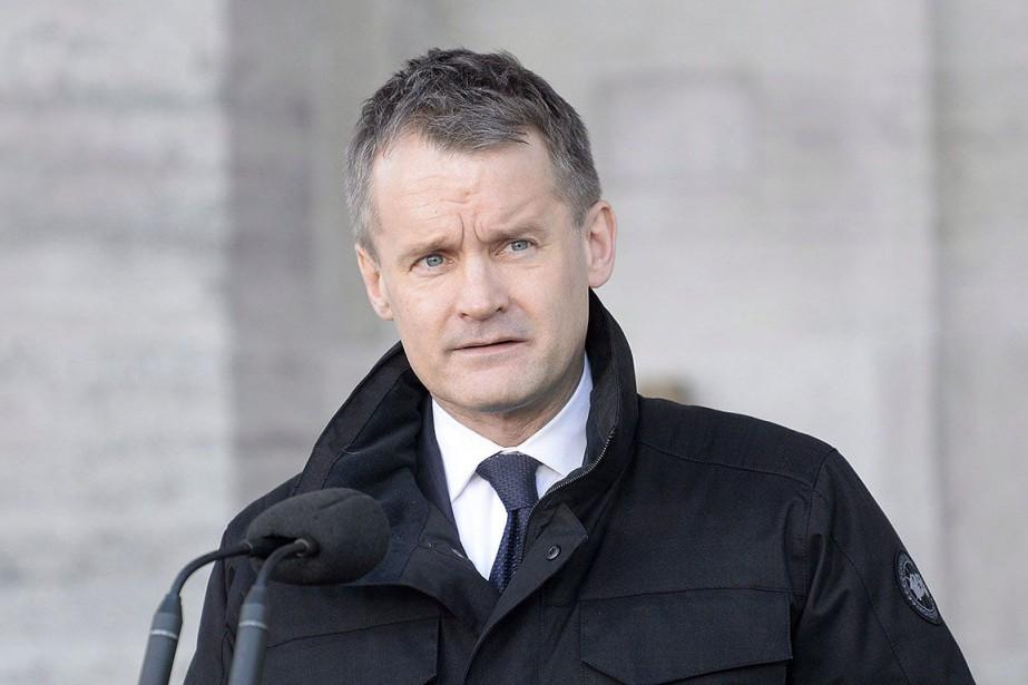Le ministre des Services aux Autochtones, Seamus O'Regan.... (Photo Adrian Wyld, archives PC)
