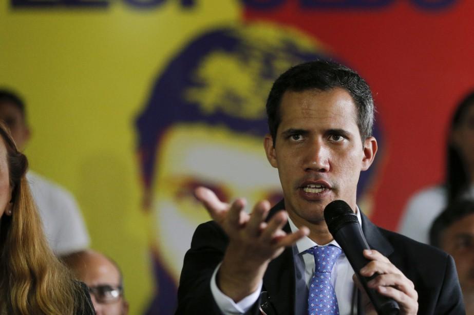 Juan Guaidó... (Photo Fernando Llano, AP)