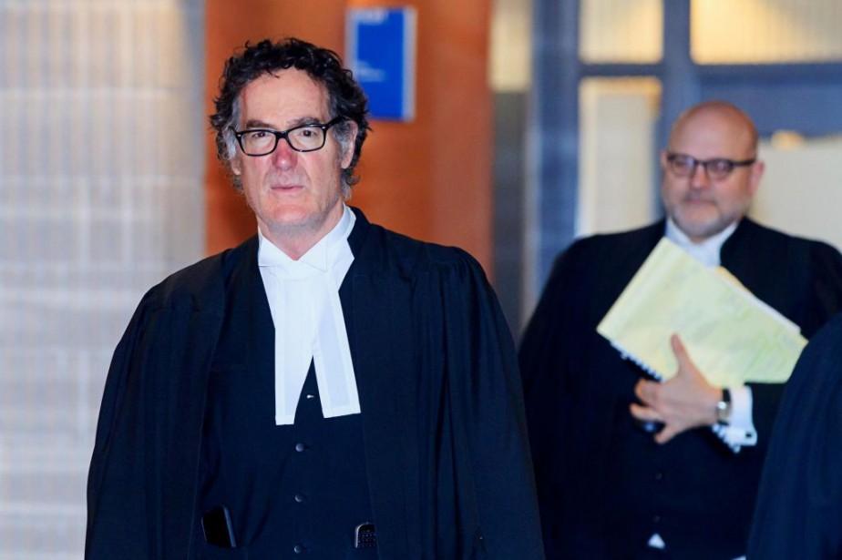 Le représentant du procureur général du Canada, Me... (PHOTO ALAIN ROBERGE, LA PRESSE)