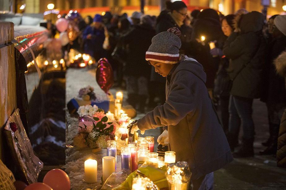 Une vigile a été organisée le 19février à... (Photo Chris Young, THE CANADIAN PRESS)