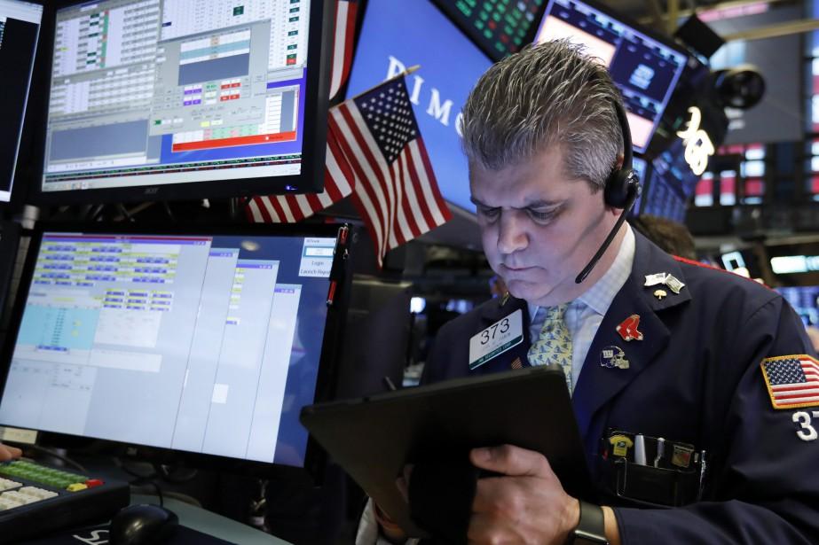 L'indice vedette de la Bourse de New York,... (Photo Richard Drew, Associated Press)