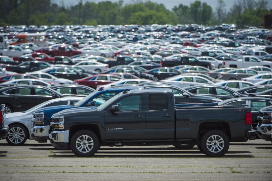 Les ventes du sous-secteur des véhicules automobiles et... (Photo Tijana Martin, archives La Presse canadienne)
