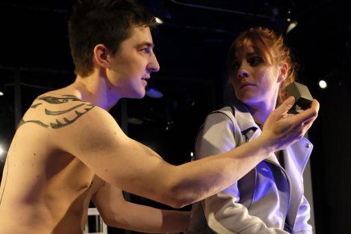 La pièce Rouge Speedo est présentée au Prospero... (PHOTO FOURNIE PAR LA PRODUCTION)
