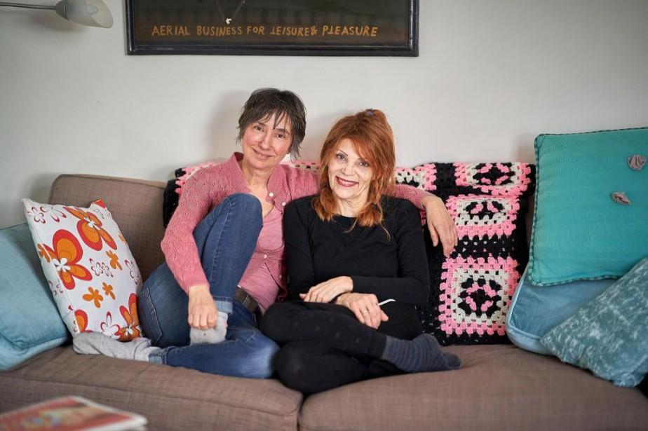 Suzanne Myre a aidé Anne dans son déménagement,... (Photo André Pichette, La Presse)