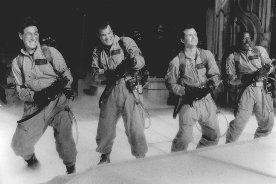 Harold Ramis, Dan Aykroyd, Bill Murray et Ernie... (Photo archives ASSOCIATED PRESS)