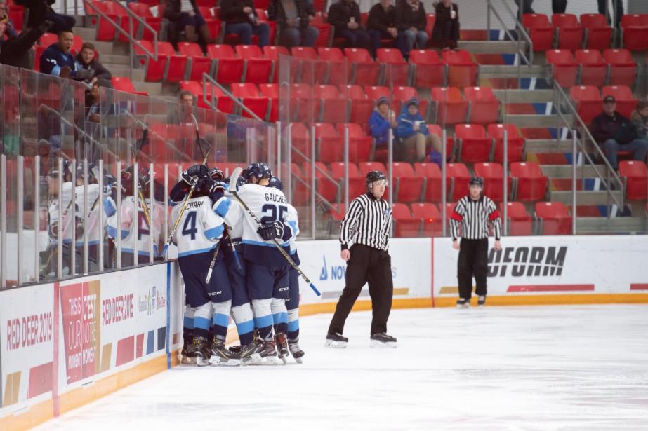 Le Québec pourrait remporter sa... (Photo tirée de Twitter @HockeyQuebec)