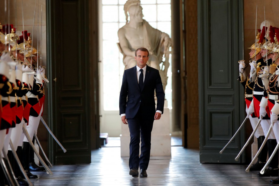 Depuis son élection en mai2017, Emmanuel Macron a... (Photo CHARLES PLATIAU, archives Reuters)