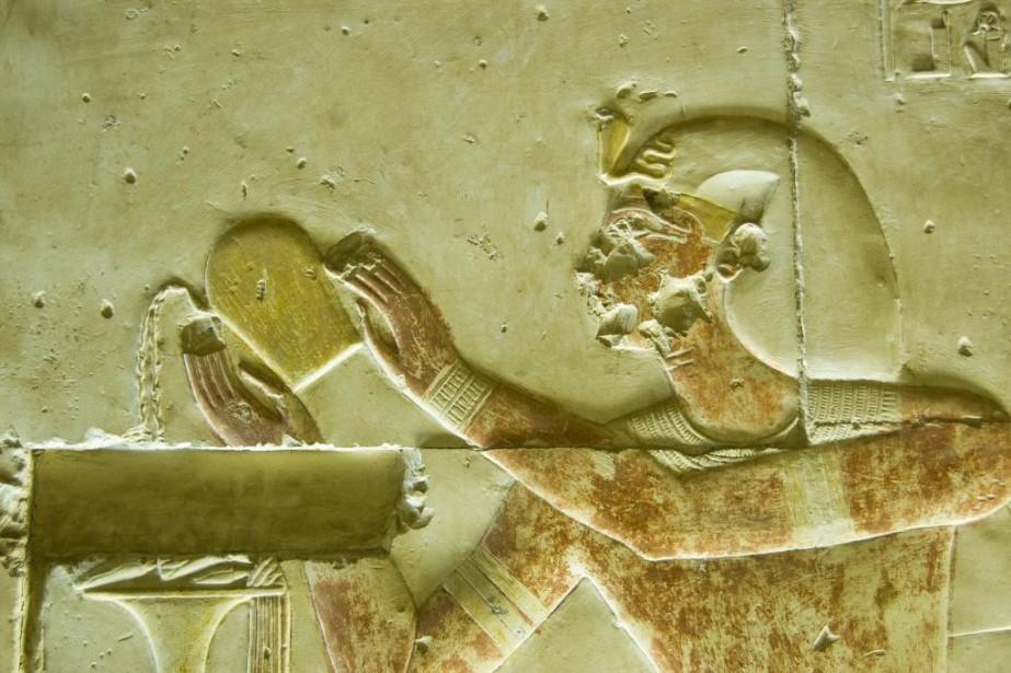 Le vin dans l'Égypte ancienne... (Photo Getty Images)