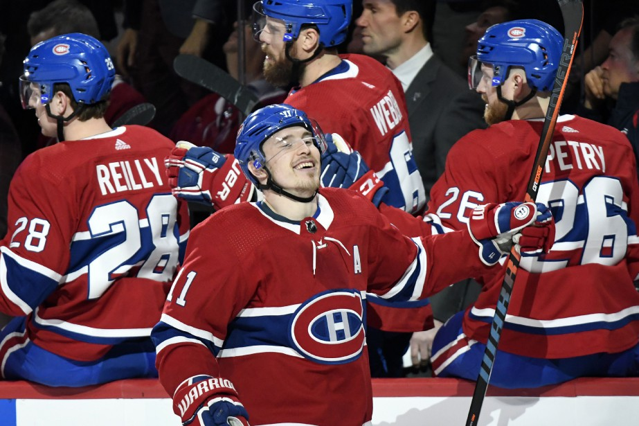 Brendan Gallagher a réussi le premier tour du... (Photo Bernard Brault, La Presse)