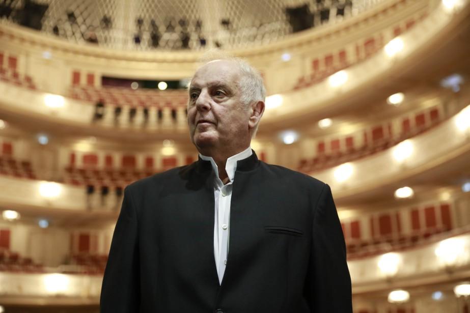 Le chef d'orchestre israélo-argentin Daniel Barenboim s'est défendu... (Photo ODD ANDERSEN, archives AFP)