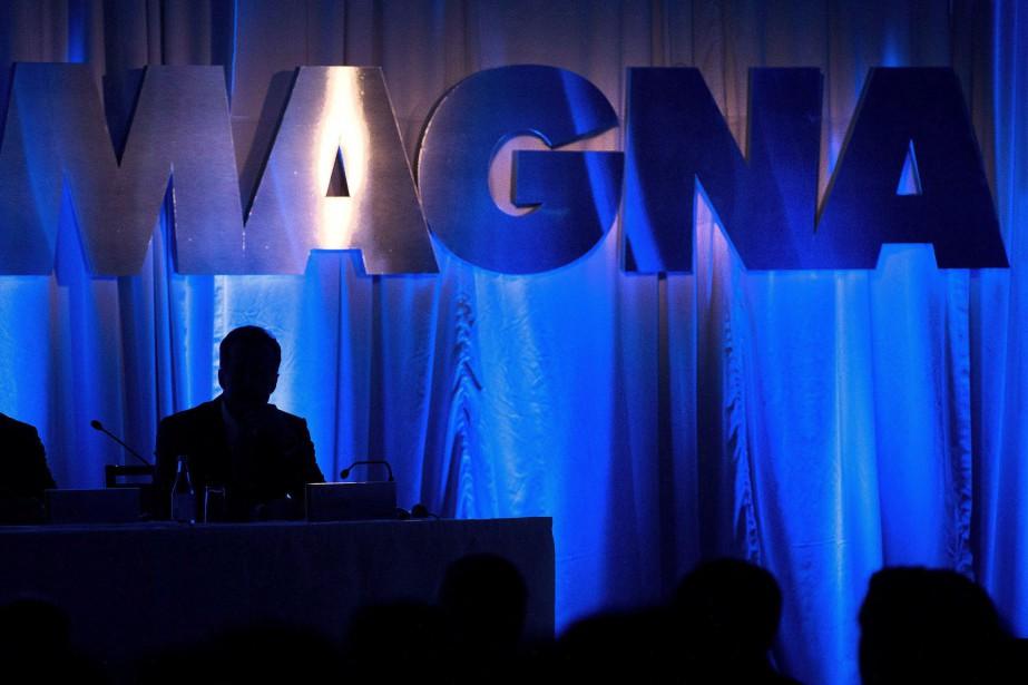 Sur une base ajustée, Magna a réalisé un... (Photo Nathan Denette, archives La Presse canadienne)