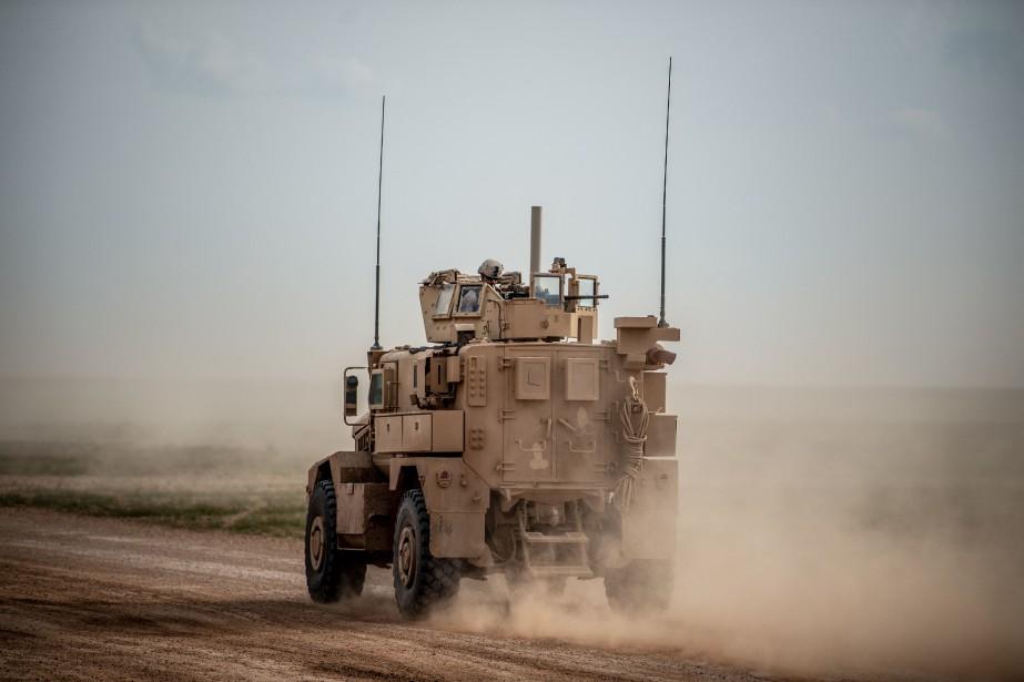 Le départ des soldats américains de Syrie devrait... (Photo BULENT KILIC, Agence France-Presse)