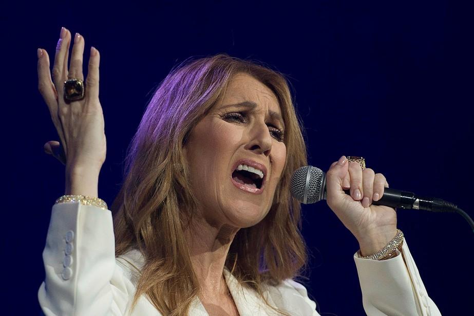 Céline Dion... (Photo Graham Hughes, AP)