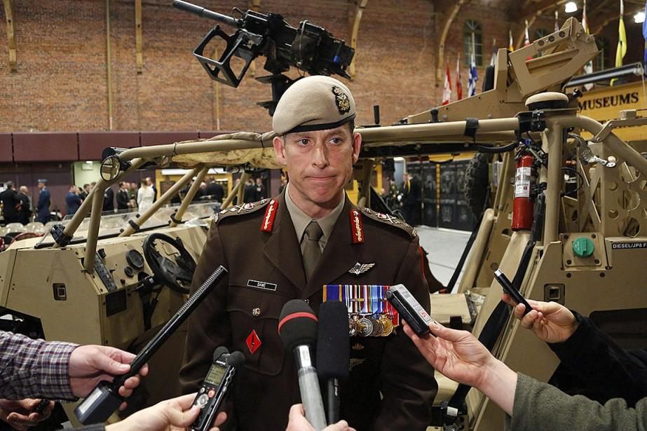 Le major-général Peter Dawe a prédit que le... (Photo Patrick Doyle, archives La Presse canadienne)