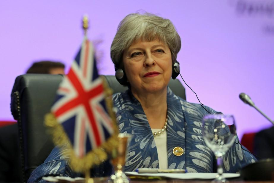 La première ministre britannique Theresa May participe jusqu'à... (Photo MOHAMED ABD EL GHANY, REUTERS)