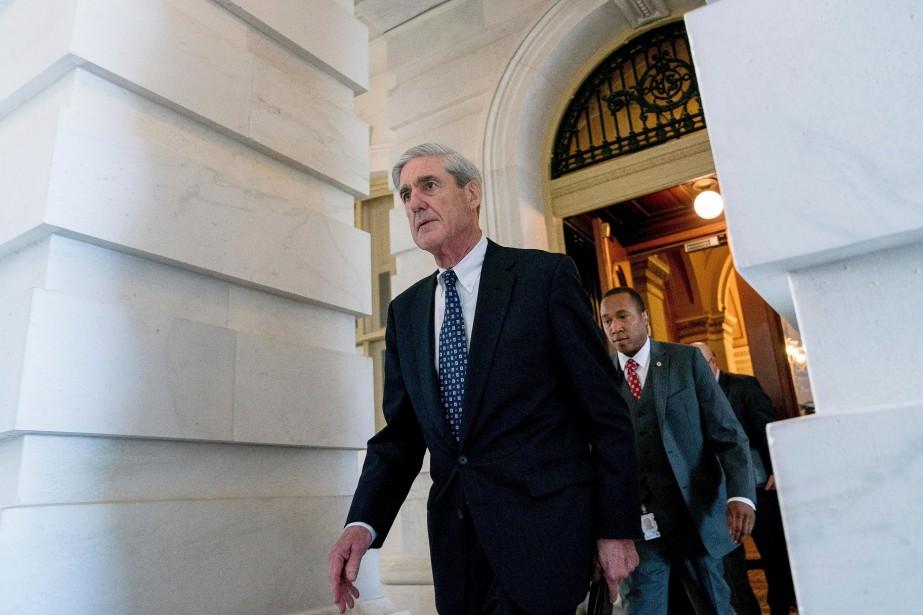 Le procureur spécial Robert Mueller doit remettre au... (Photo Andrew Harnik, archives Associated Press)