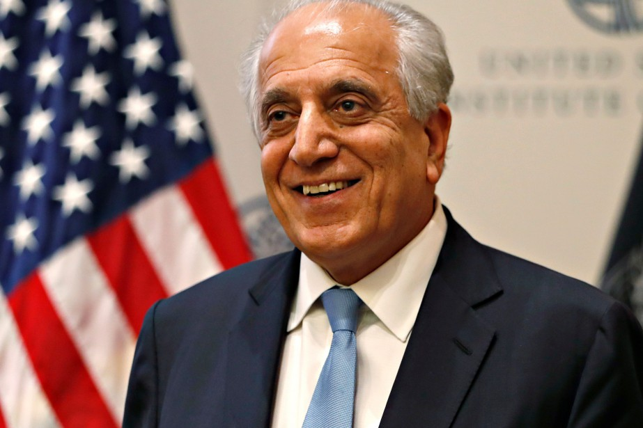 L'envoyé spécial américain pour l'Afghanistan, Zalmay Khalilzad... (PHOTO JACQUELYN MARTIN, ARCHIVES ASSOCIATED PRESS)