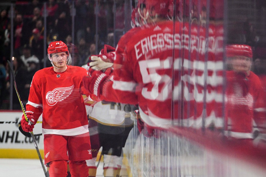 Gustav Nyquist... (Photo Tim Fuller, archives USA TODAY Sports)