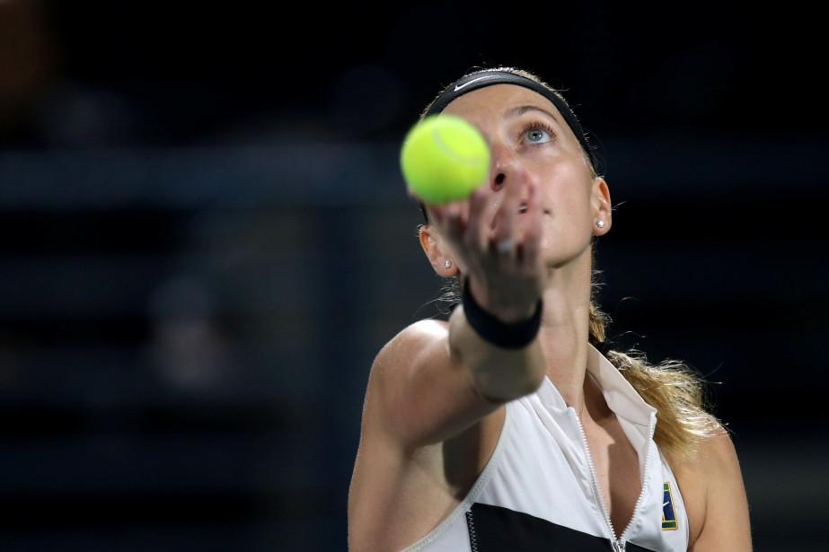Petra Kvitova... (Photo CHRISTOPHER PIKE, REUTERS)