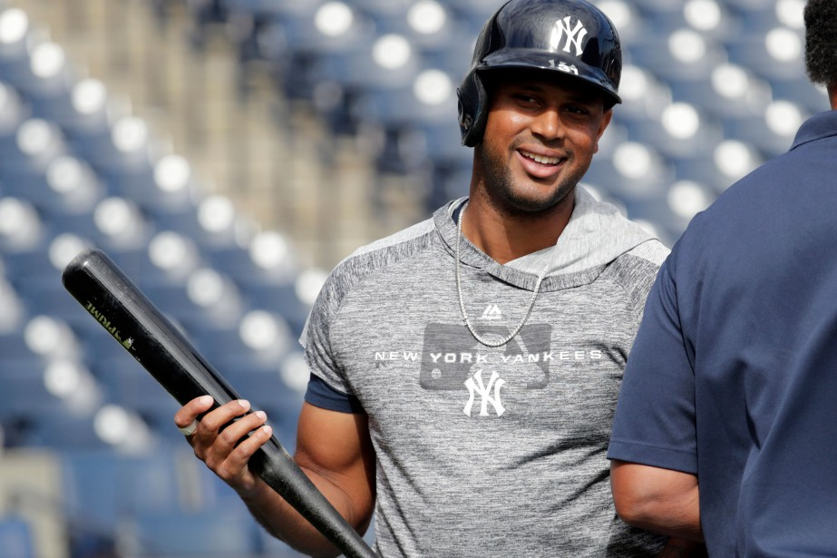 Aaron Hicks... (Photo Lynne Sladky, AP)