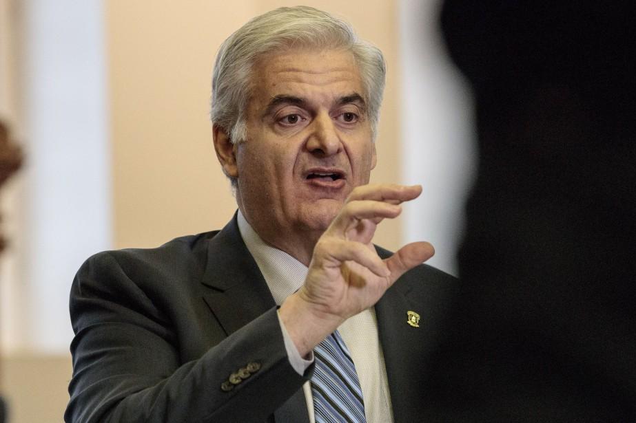 Le maire de Montréal-Ouest, Beny Masella, a indiqué... (PHOTO HUGO-SEBASTIENAUBERT, ARCHIVES LA PRESSE)