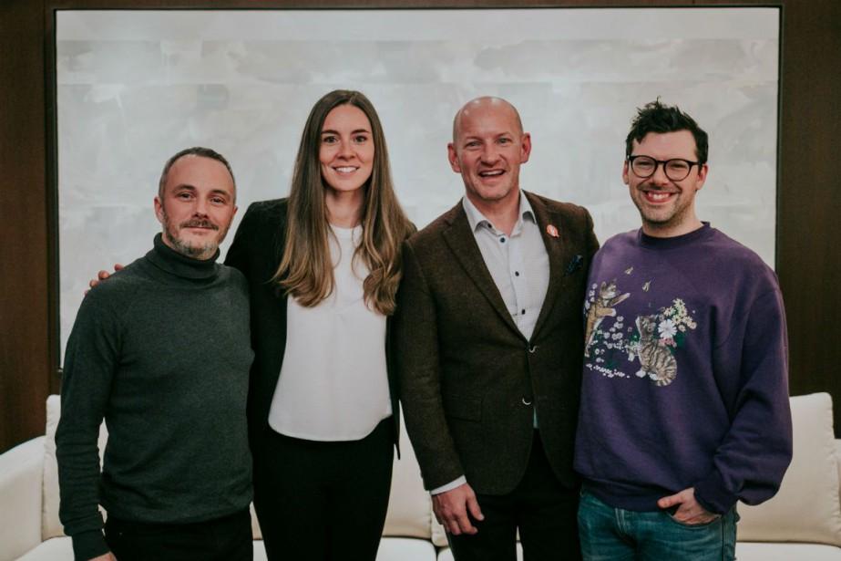 De gauche à droite: Vincent Bolduc, Catherine Duclos,... (Photo Merryl Lavoie)