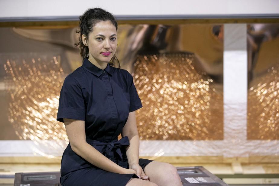L'artiste et cinéaste montréalaise CarolineMonnet... (PHOTO DAVIDBOILY, ARCHIVES LA PRESSE)