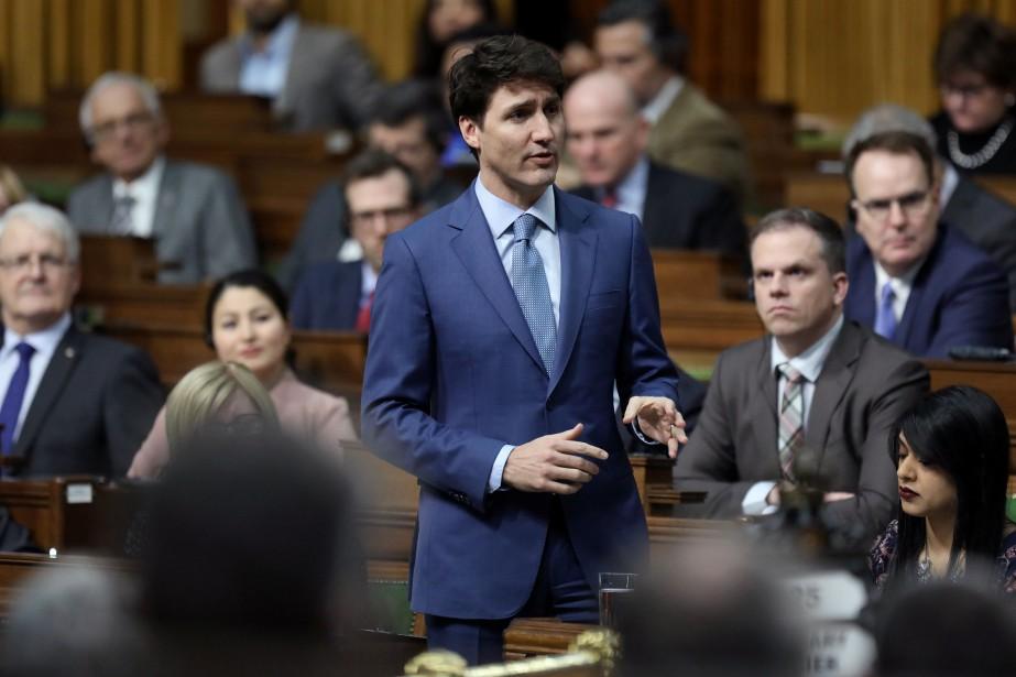 Le premier ministre du Canada, JustinTrudeau... (PHOTO CHRIS WATTIE, REUTERS)