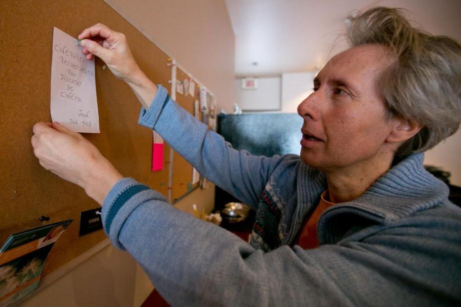 Jean Larivière recherche des cinéphiles pour, tout simplement,... (PHOTO FRANÇOIS ROY, LA PRESSE)