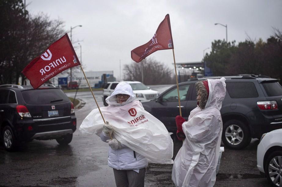 General Motors du Canada a déposé auprès de... (PHOTO EDUARDO LIMA,  LA PRESSE CANADIENNE)