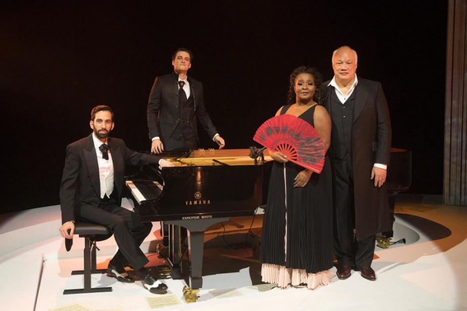 Le pianiste Dominic Boulianne, le ténor Jean-Michel Richer,... (PHOTO ROBERT SKINNER, LA PRESSE)