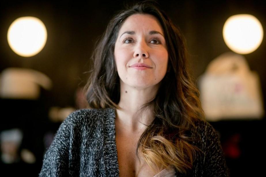 Sophie Bienvenu, une autrice bien avant d'être une... (PHOTO FRANÇOIS ROY, LA PRESSE)