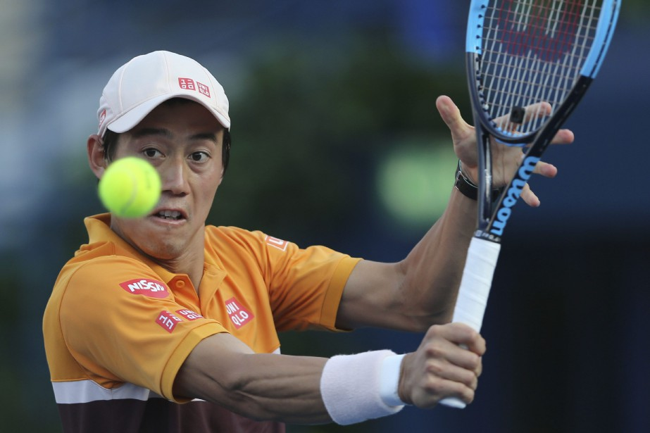 Le Japonais Kei Nishikori (photo) sera opposé au... (PHOTO KAMRAN JEBREILI, ASSOCIATED PRESS)