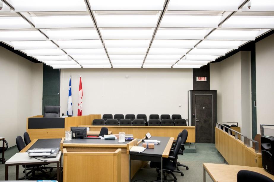 Une salle d'audience du palais de justice de... (PHOTO MARCO CAMPANOZZI, ARCHIVES LA PRESSE)