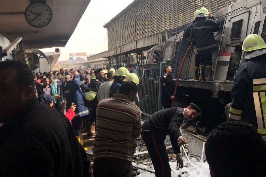 Il semble que l'incendie se soit produit après... (PHOTO AMR ABDALLAH DALSH, REUTERS)