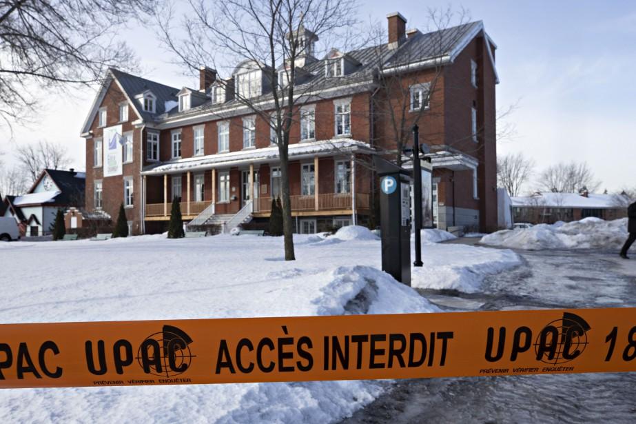 Radio-Canada rapporte que l'une des perquisitions a lieu... (PHOTO PATRICK SANFAÇON, LA PRESSE)