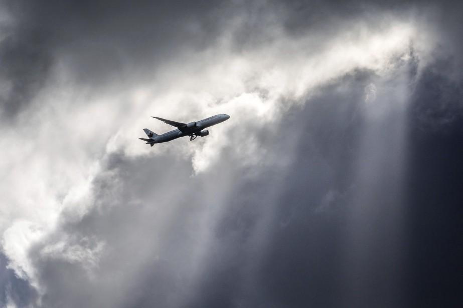 Un avion en route pour Delhi mardi soir... (PHOTO FRANK RUMPENHORST, ARCHIVES LA PRESSE CANADIENNE)