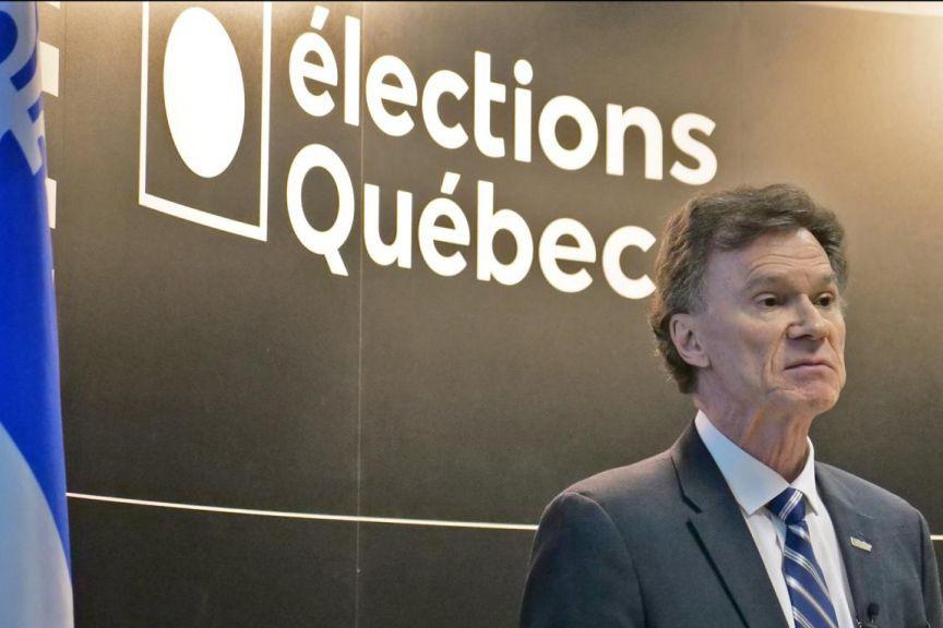 Pierre Reid,directeur général des élections... (PHOTO ERICK LABBÉ, ARCHIVESLE SOLEIL)
