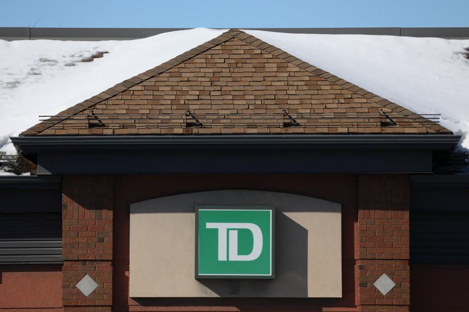 Le bénéfice ajusté de la TD est passé... (PHOTO CHRIS WATTIE, REUTERS)