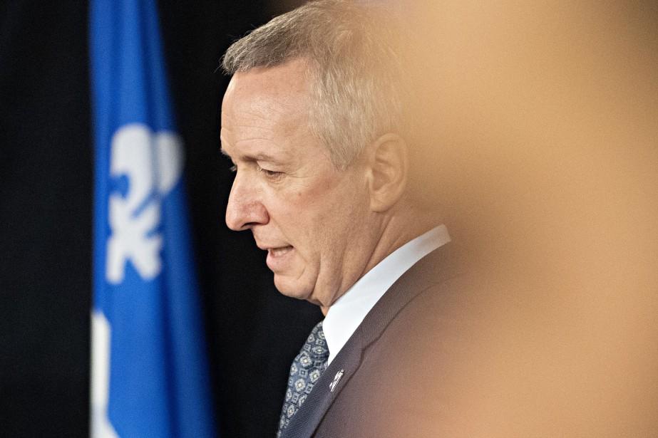 André Lamontagne, ministre de l'Agriculture... (PHOTO PATRICK SANFAÇON, LA PRESSE)