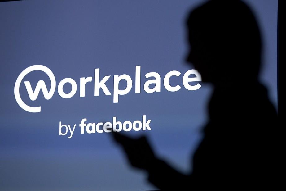 Lancé en 2016, Workplace, le réseau social... (PHOTO JUSTIN TALLIS, ARCHIVES AFP)