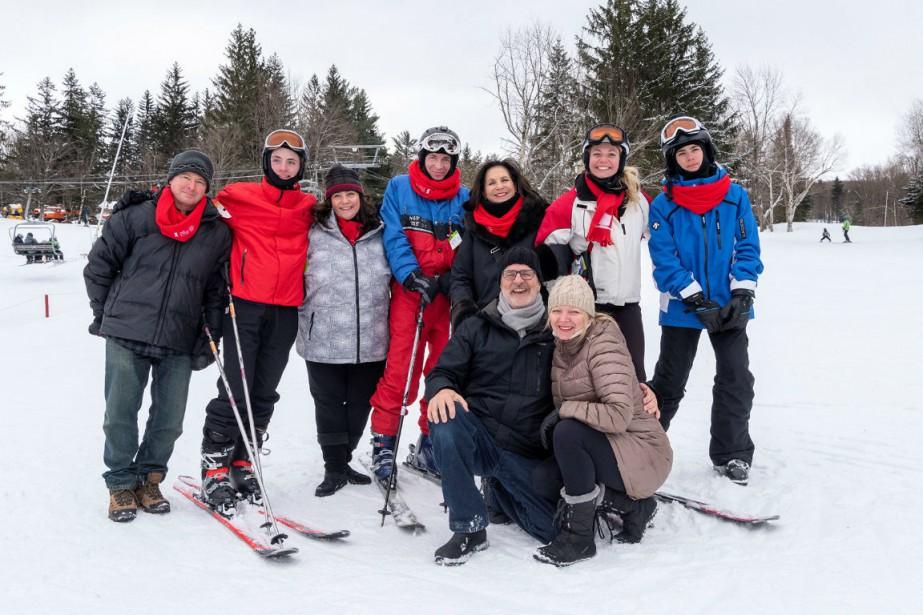LE 20e événement-bénéfice Skions pour la vie a... (Photo fournie par la Société)