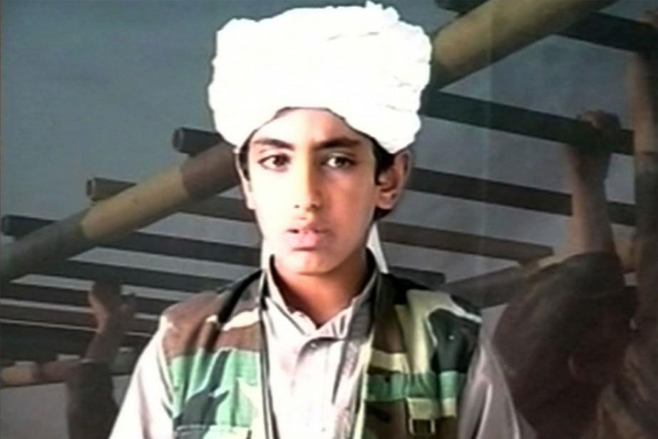 Hamza Ben Laden à l'âge de 10ans, en... (PHOTO ARCHIVES ASSOCIATED PRESS)