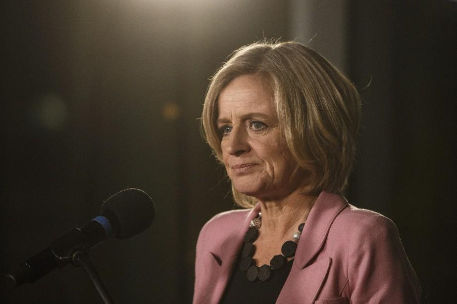 La première ministre de l'Alberta, Rachel Notley... (PHOTO JASON FRANSON, ARCHIVES LA PRESSE CANADIENNE)