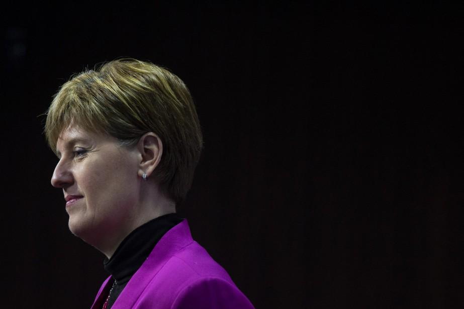 La nouvelle ministre de l'Agriculture, Marie-Claude Bibeau... (PHOTO ADRIAN WYLD, ARCHIVES LA PRESSE CANADIENNE)